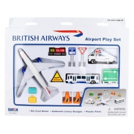 British Airways Airport 12 Piece Play Set