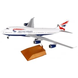 British Airways Boeing 747-400 Diecast Model - Scale 1:200