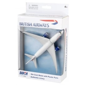 British Airways Boeing 787 Diecast Toy