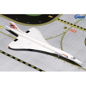 British Airways Concorde Diecast Model - Scale 1:200