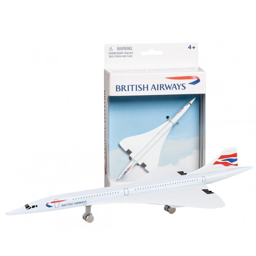 British Airways Concorde Diecast Toy