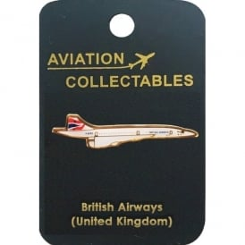 British Airways Concorde Pin Badge