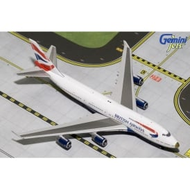 British Airways Victorious Livery B747-400 Diecast Model - Scale 1:400