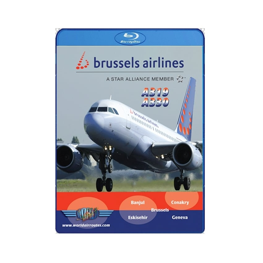 Brussels Airlines A319 and A330 Blu-Ray