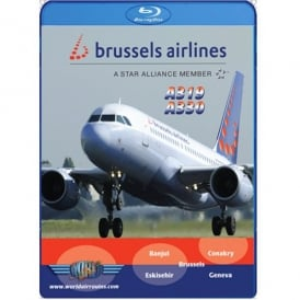 Just Planes Brussels Airlines A319 and A330 Blu-Ray