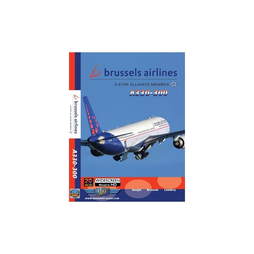 Brussels Airlines A330-300 DVD