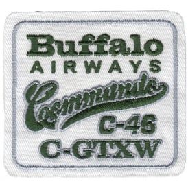 Buffalo Airways Commado Patch