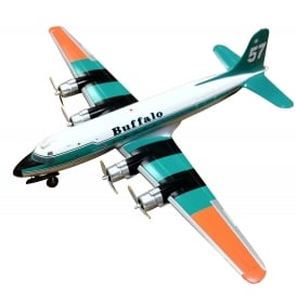 Buffalo Airways DC-4 Diecast Model C-FIQM - Scale 1:200