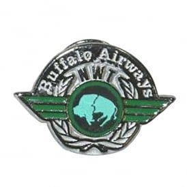 Buffalo Airways Logo Pin Badge