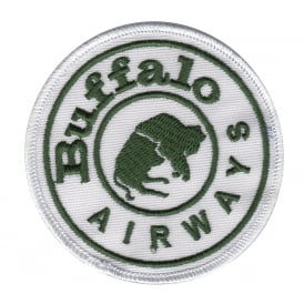 Buffalo Airways Round Patch