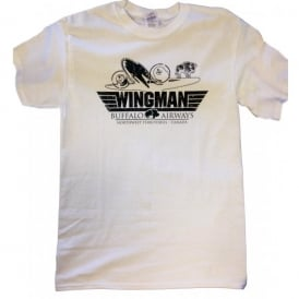 Buffalo Airways Wingman T-Shirt - White