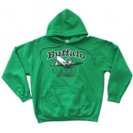 Buffalo Airways Buffalo DC-3 Classic Hoodie in Green