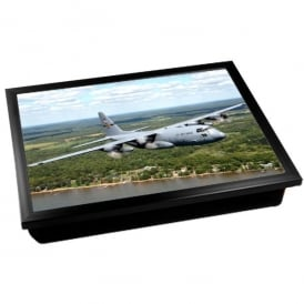 C-130 Hercules RAF Grey Cushion Lap Tray
