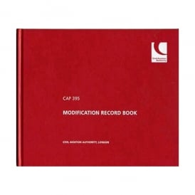 CAA CAP 395 Modification Record Logbook