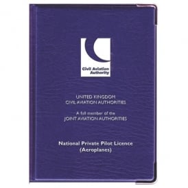 CAA NPPL Licence Cover