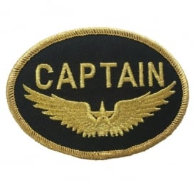 Captain Logo Iron On Patch