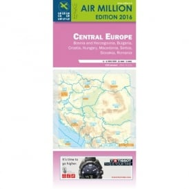 Central Europe VFR 1:1,000,000 Chart - 2016