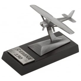 Clivedon Cessna 150 Desk Model - Pewter