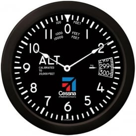 Cessna Altimeter Round Wall Clock - 14