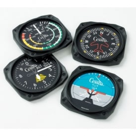 Trintec Cessna Instrument Square Coaster Set of 4