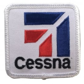Cessna Logo Iron On Patch
