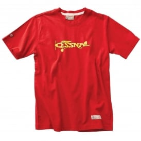 Cessna Plane T-Shirt - Red