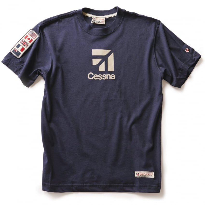 Cessna T-Shirt - Navy
