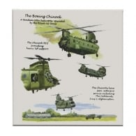 Chinook Fridge Magnet