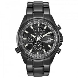 Citizen World Time Black Ion-Plated Watch