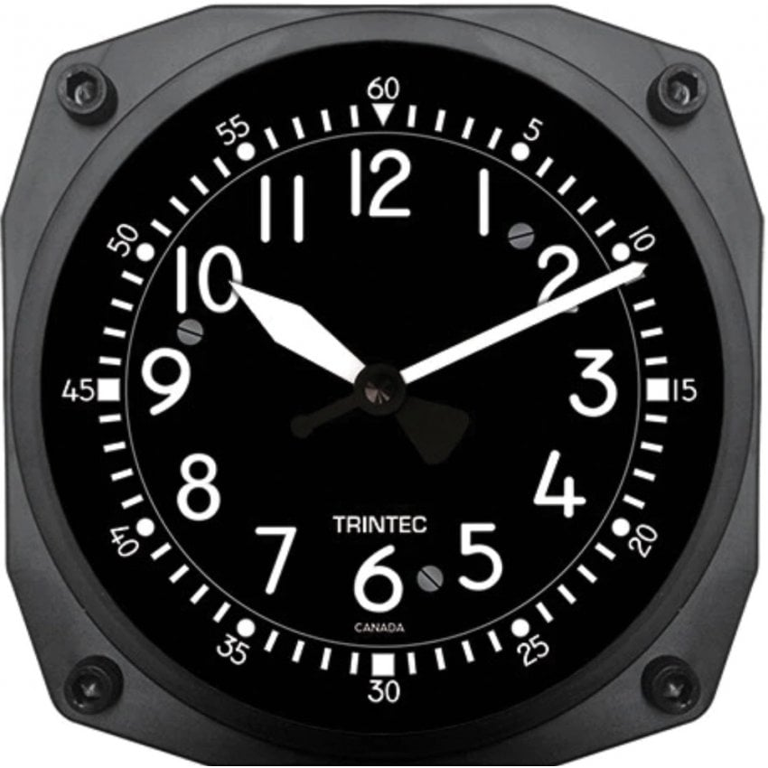 "Classic Cockpit Style 6"" Wall Clock"