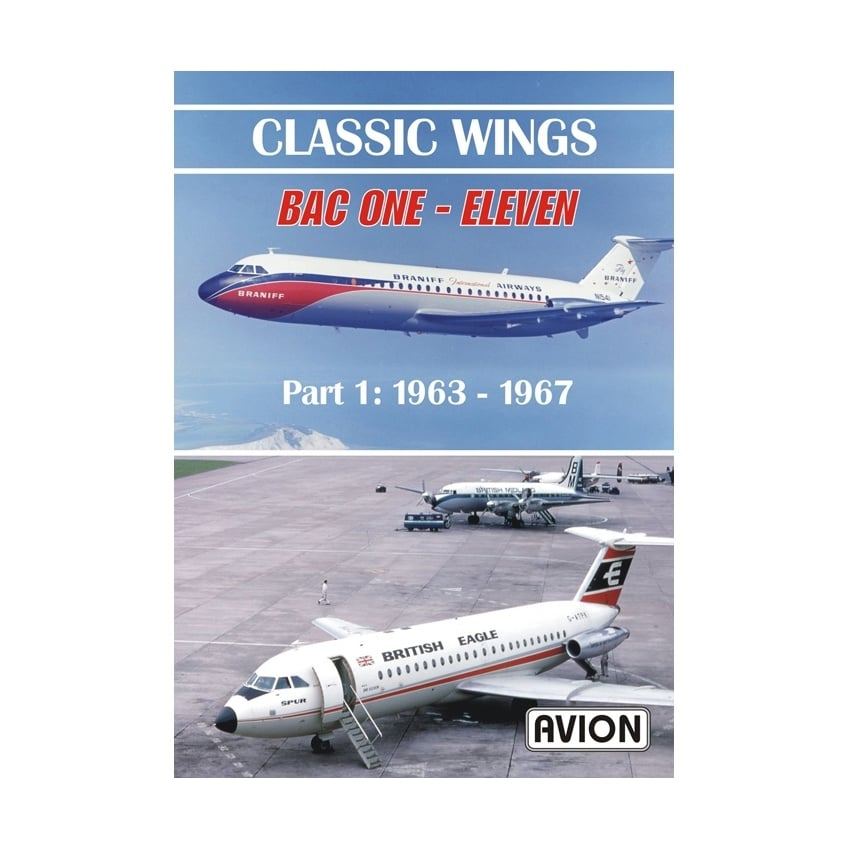 Classic Wings - BAC ONE - Eleven Part 1 DVD