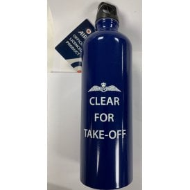 Clear For Take Off RAF Water Bottle