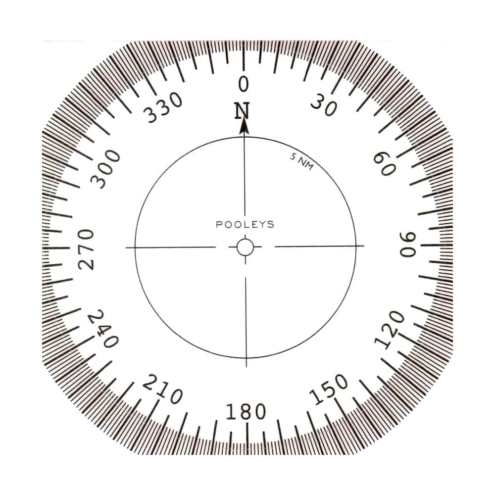 compass rose pack of 10'pooleys' from flightstore.co.uk