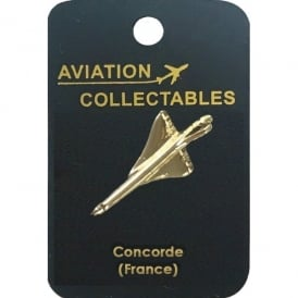 ACI Collectables Concorde (France) Gold Pin Badge