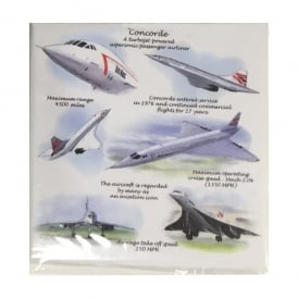 Concorde Fridge Magnet