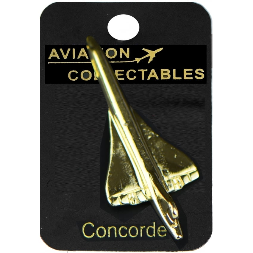 Concorde Gold Pin Badge