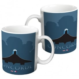 Concorde in Clouds Mug
