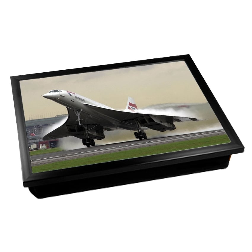 Concorde On Take Off Cushion Lap Tray