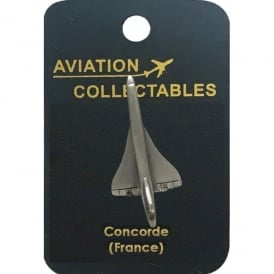 Concorde Pewter Pin Badge