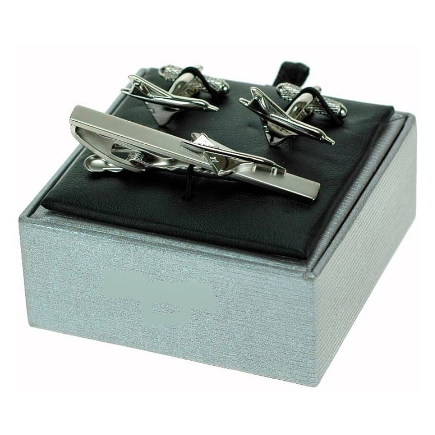Concorde Tie Bar and Cufflinks Gift Set