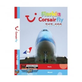 Corsair Fly 747-400 DVD - Florida