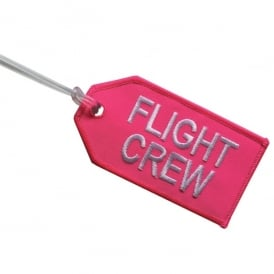 Crew Embroidered Baggage Tag