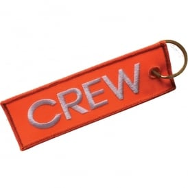 Crew Embroidered Keyring
