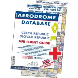 Avion Flying Czech Republic 2016 VFR Flight Guide and 2 Charts