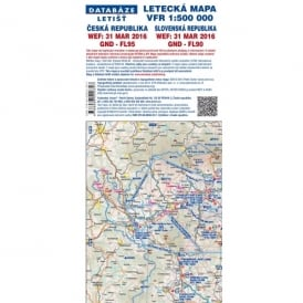 Czech Republic VFR 1:500,000 2016 Charts - Set of 2