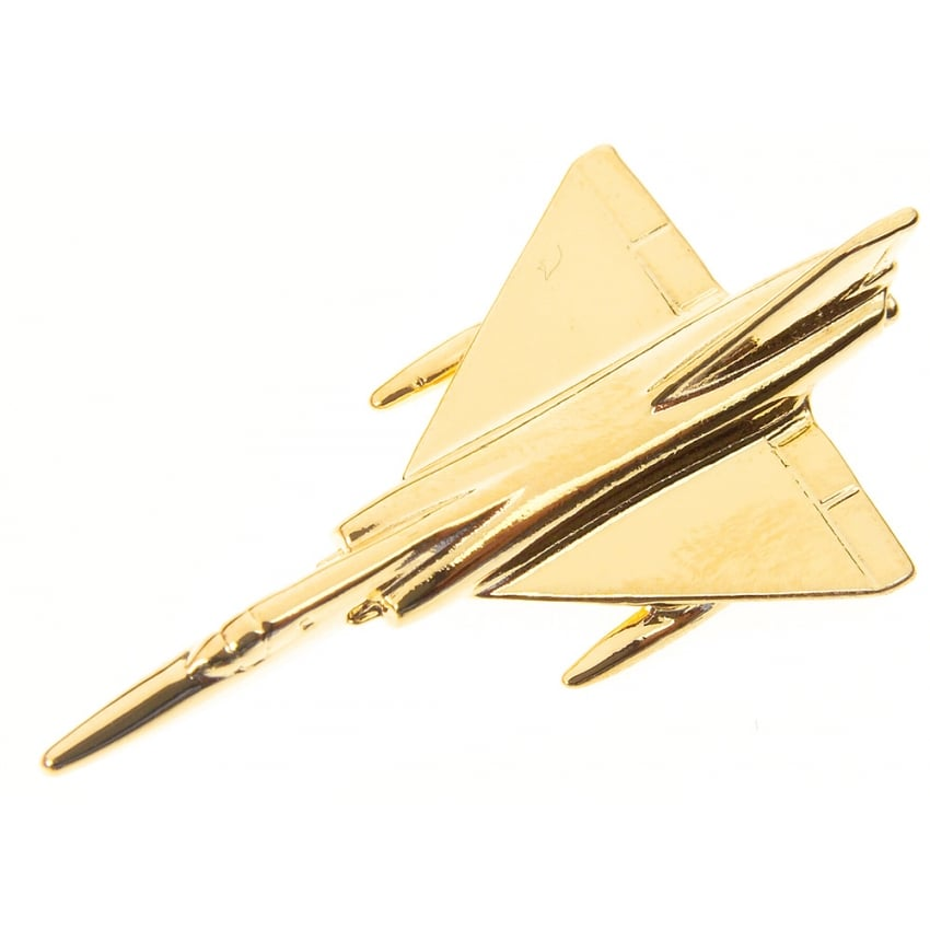 Dassault Mirage IV Boxed Pin - Gold