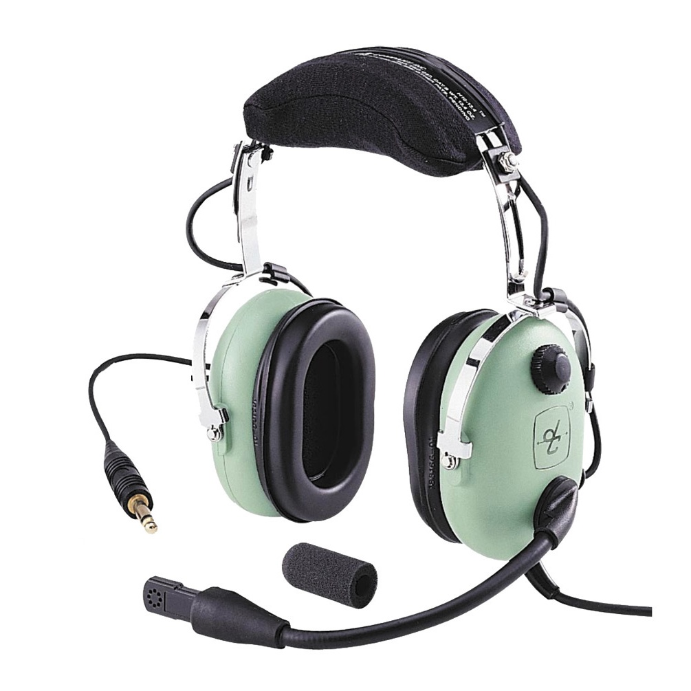 6860a95d225 David Clark H10-13H Passive Helicopter Pilot Headset with Free ...