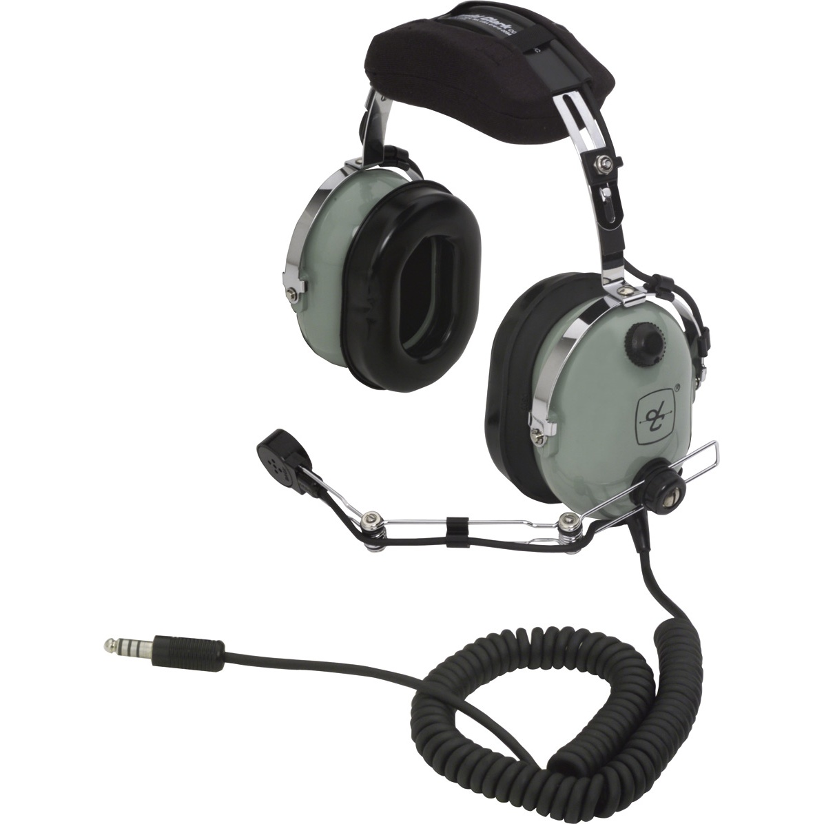 David Clark H10-56 Pive Helicopter Pilot Headset with ... on