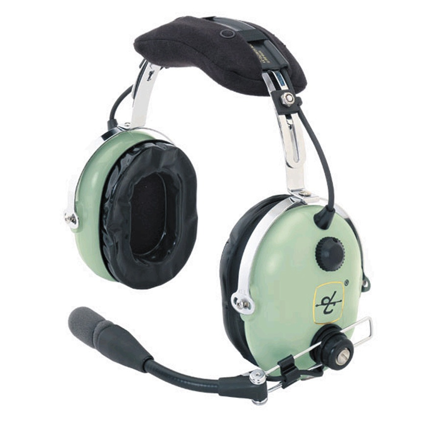 43354324ead David Clark H10-60H Helicopter Passive Headset with Free Headset case