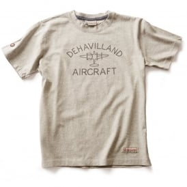 de Havilland Aircraft T-Shirt - Grey
